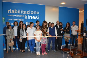 Il direttoreAlessio Scopaall'Inaugurazione di Medical Fitness in Take Care