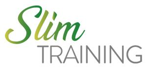 Slim training logo