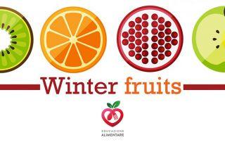 frutti di stagione inverno