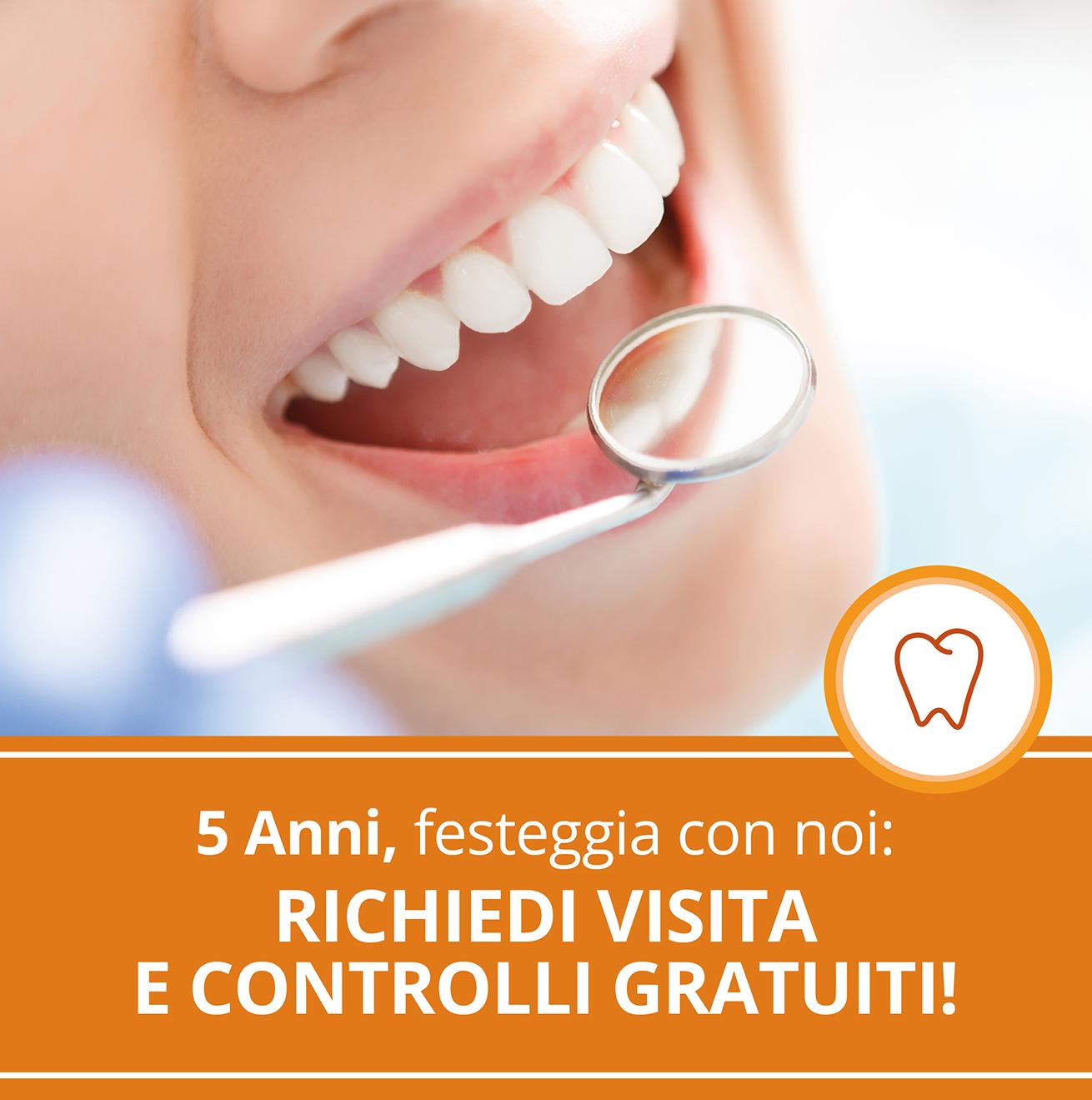 Clinica odontoiatrica Take Care - promo visita gratuita
